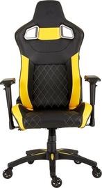 Spēļu krēsls Corsair Race 2018 T1 Black/Yellow