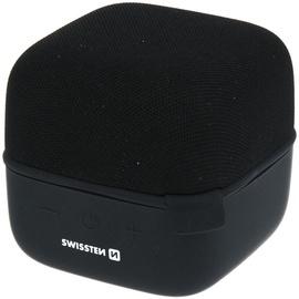 Bezvadu skaļrunis Swissten Cube, melna, 10 W