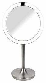 Spogulis Homedics Twist Illuminated MIR-SR900 Inox, ar gaismu, stāvošs, 19.5x37 cm