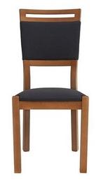 Ēdamistabas krēsls Black Red White Arosa Walnut Ekwador 2417