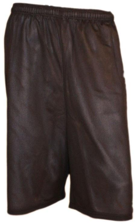 Bars Mens Basketball Shorts Black/White 172 XXL