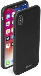 Krusell Arvika 3.0 Back Case For Apple iPhone XS Max Black