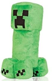 Mīkstā rotaļlieta Jinx Minecraft Creeper 71225AYK/C, zaļa, 30 cm