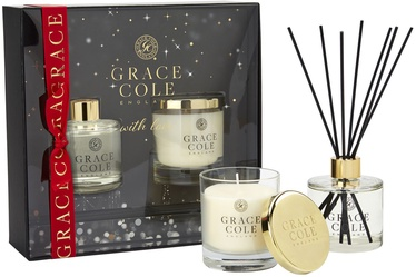 Grace Cole Nectarine Blossom & Grapefruit 2pcs Gift Set 400ml
