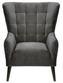 Atzveltnes krēsls Black Red White Casey Es Dark Grey, 94x86x107 cm