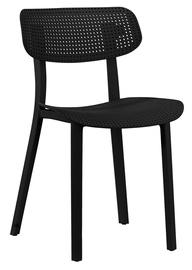 Ēdamistabas krēsls Home4you Novella 30013 Black