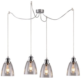 Candellux Voica 4x40W E27 Hanging Ceiling Lamp Chrome