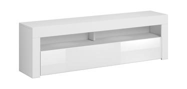 ТВ стол Vivaldi Meble Mex, белый, 1600x350x500 мм