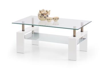 Kafijas galdiņš Halmar Diana Intro Lacquered White, 1000x600x450 mm