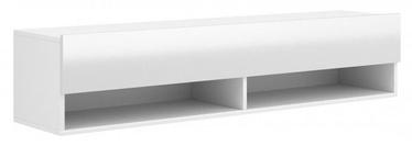 ТВ стол Vivaldi Meble Derby 140, белый, 1400x328x300 мм