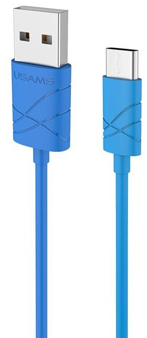 Usams U-GEE USB To USB Type-C Cable 1m Blue