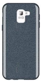 Wozinsky Glitter Shining Back Case For Samsung Galaxy J6 Black