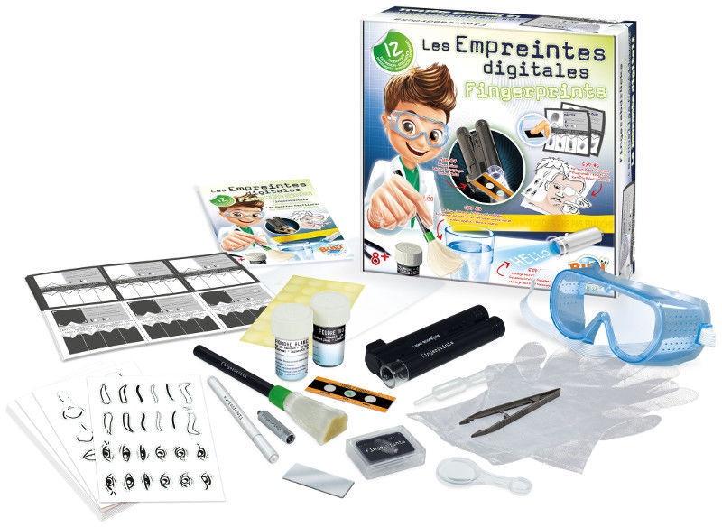 Intelektuāla rotaļlieta Buki France Experiments Fingerprints