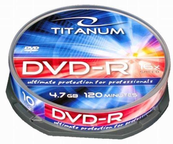 Titanum DVD+R 4.7GB/80min 16x 10pcs