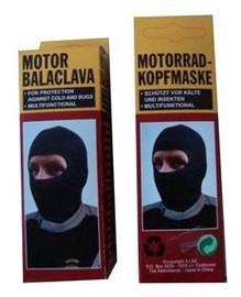 SN Motor Balaclava Head Mask Black