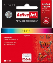 ActiveJet Cartridge AC-546RX For Canon 15ml Colorful