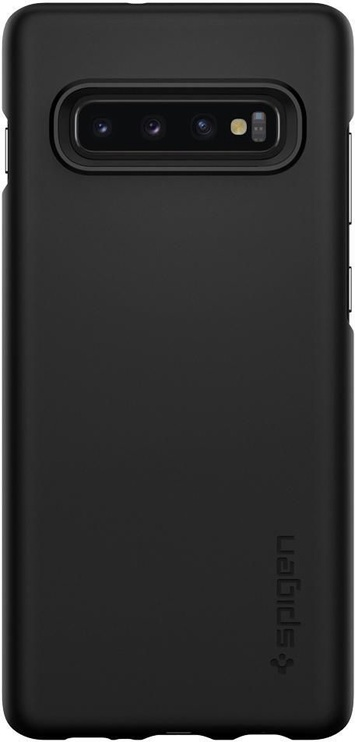 Spigen Thin Fit Back Case For Samsung Galaxy S10 Black