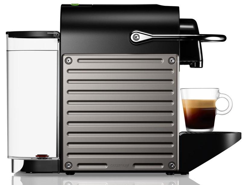 Kapsulas kafijas automāts Nespresso Pixie, melna/pelēka