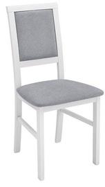 Ēdamistabas krēsls Black Red White Robi Grey/White