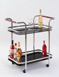 Bāra galds Halmar Bar-7 Black, 690x420x740 mm