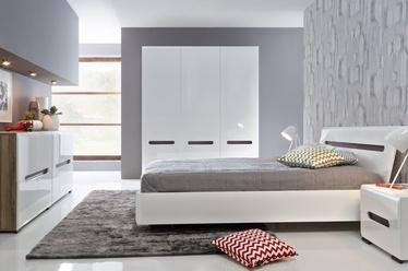 Guļamistabas mēbeļu komplekts Black Red White Azteca