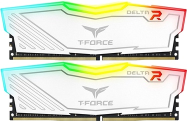 Team Group Delta RGB White 8GB 3000MHz CL16 DDR4 KIT OF 2 TF4D48G3000HC16CDC01