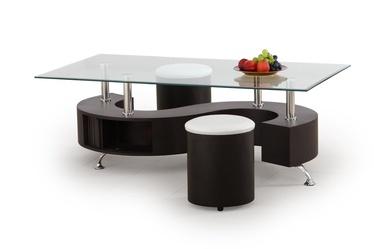 Журнальный столик Halmar Nina Hu Wenge, 1300x700x450 мм