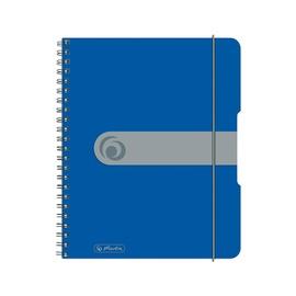 Piezīmju bloks Herlitz Spiral Pad To Go A5 Blue 11293750