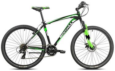 """Велосипед Carratt, черный/зеленый, 15"""", 27.5″"""