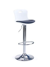 Bāra krēsls Halmar H49 Black/White, 1 gab.
