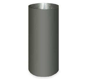 Dūmvads ABX Chimney Pipe Steel D200mm Black