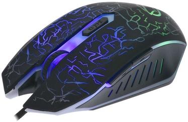 Игровая мышь Manta MM771G Black, проводная, оптическая