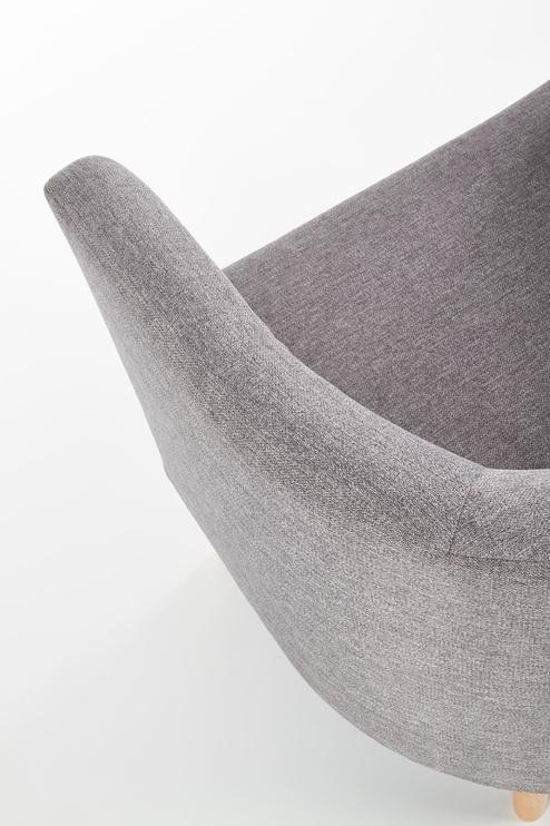 Atzveltnes krēsls Halmar Clubby, pelēka, 66x58x64 cm