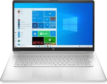Ноутбук HP 17 CN0029NW, Intel® Core™ i3-1115G4, 8 GB, 256 GB, 17.3 ″