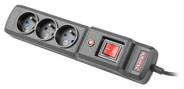 ARMAC Surge Protector 3 Outlet Black 4.5m