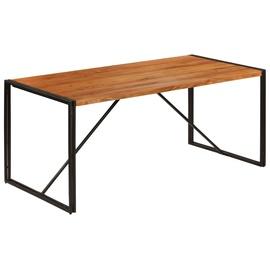 Pusdienu galds VLX Solid Acacia Wood 246352, brūna, 1800 mm x 900 mm x 760 mm