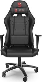 Spēļu krēsls SilentiumPC SR300 V2 Black