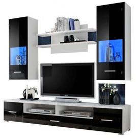 Комплект мебели для гостиной Furnival Reno, черный