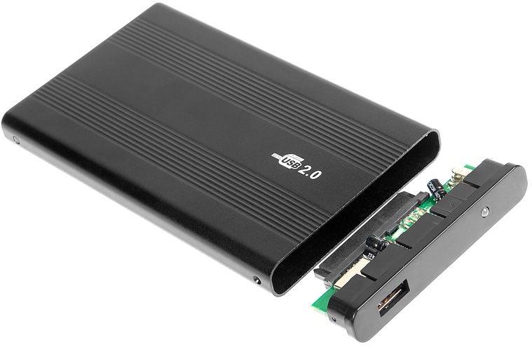 """Tracer 722-2 2.5"""" IDE HDD Enclosure Aluminum"""