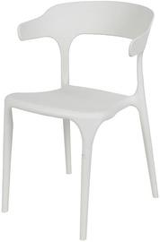 Садовый стул Verners Sicilia, белый, 51 см x 52 см x 77 см