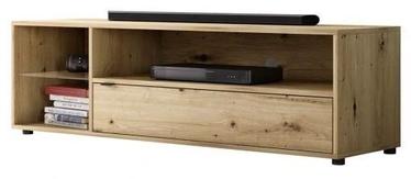 ТВ стол Vivaldi Meble Lets Rock Artisan, дубовый, 1400x420x400 мм