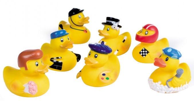 Vannas rotaļlieta Canpol Babies Squeaking Ducks Toys Dressed Up 2/992