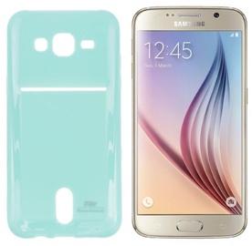 Roar Pocket Jelly Case For Samsung G920 Galaxy S6 Light Blue