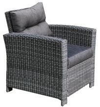 Садовый стул Garden4you Pavia, серый, 79 см x 77 см x 84 см