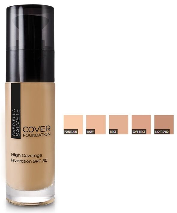 Gabriella Salvete Cover Foundation SPF30 30ml 102