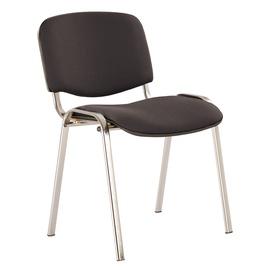 Krēsls izo melns (kopš) c-11 melns hroms