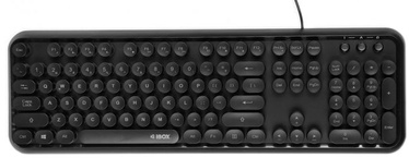 iBOX Pulsar Keyboard Black