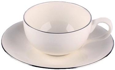 Quality Ceramic Sense Platinum Espresso 18cl 15cm