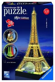 3D mīkla Ravensburger Eiffel Tower With Lights 125791, 216 gab.