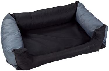 Eu Dog Bed Cushion 100x80cm Black/Grey